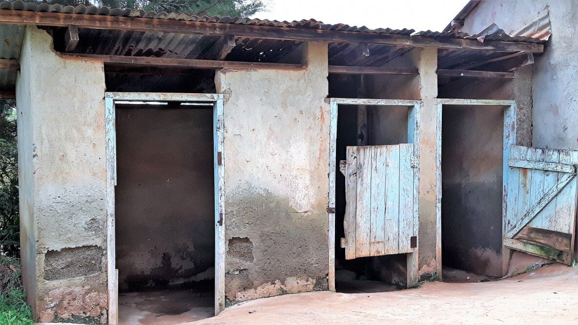 showers and toilets at Immculate Boys