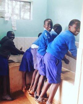 WASH Projekt in Kitale Kenya