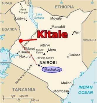 Einsatzort Kitale Kenia
